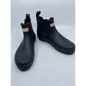 Hunter Women's Blue Boots Size 8